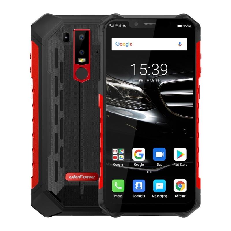 Мобильный телефон Ulefone Armor 6, черный, красный 315 мгц беспроводная gsm главная охранной охранная сигнализация автоматический номеронабиратель смс сим позвоните нам затыкают