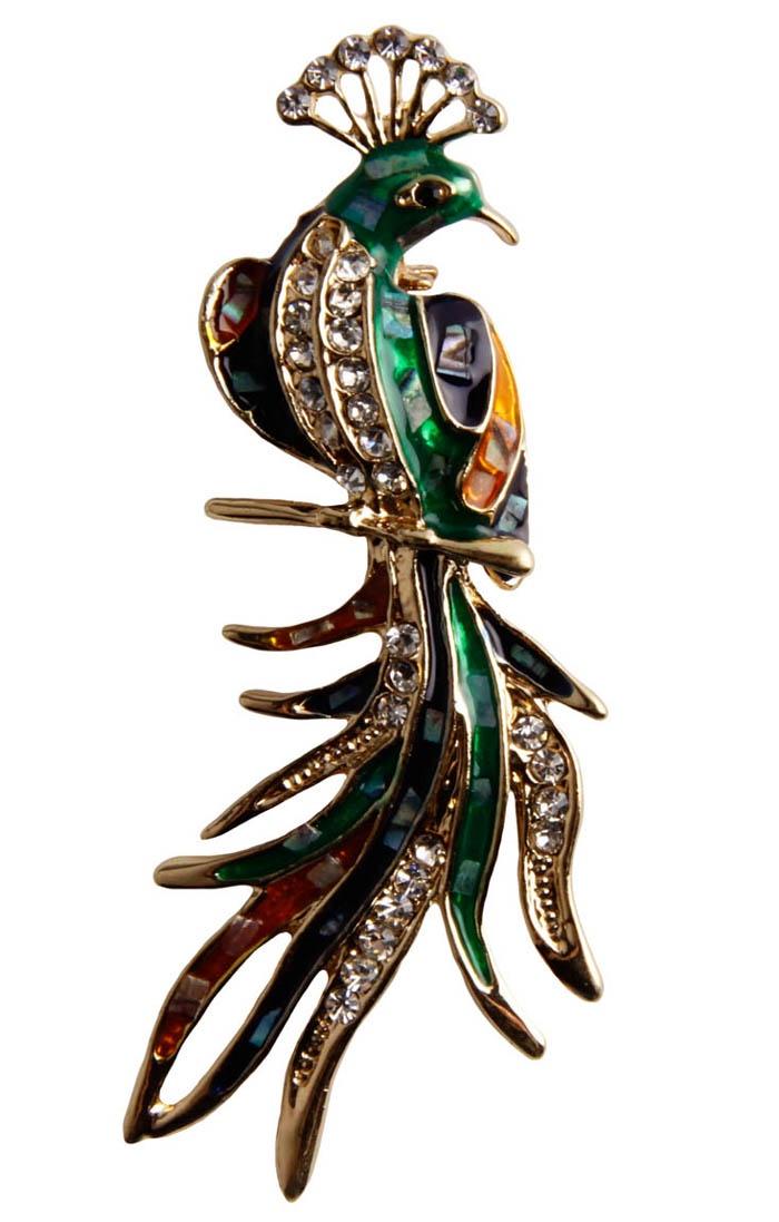 Брошь бижутерная Антик Хобби брошь орел бижутерный сплав австрийские кристаллы жемчуг искусственный