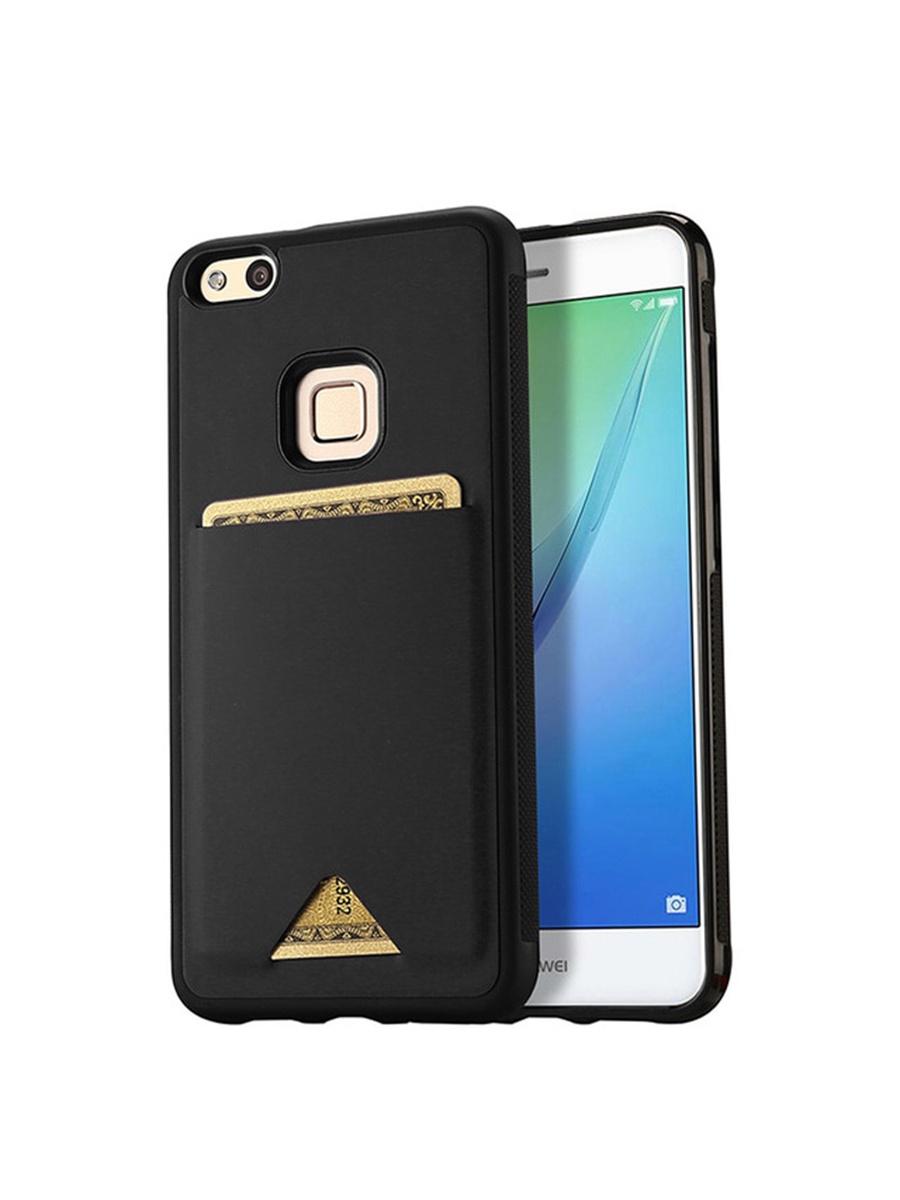 Чехол для сотового телефона DUX DUCIS Huawei P20 Lite, черный аксессуар чехол для huawei p20 lite neypo brilliant silicone light blue crystals nbrl4496