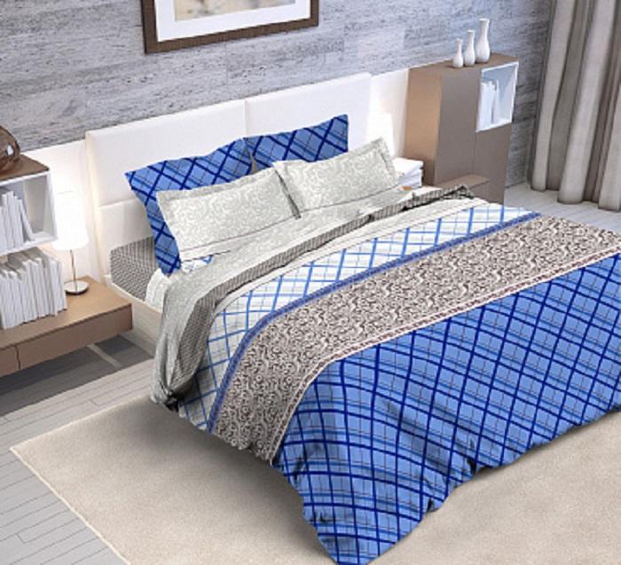 Комплект постельного белья Селтекс 7789-1-евро jiabai матрас постельные принадлежности 100