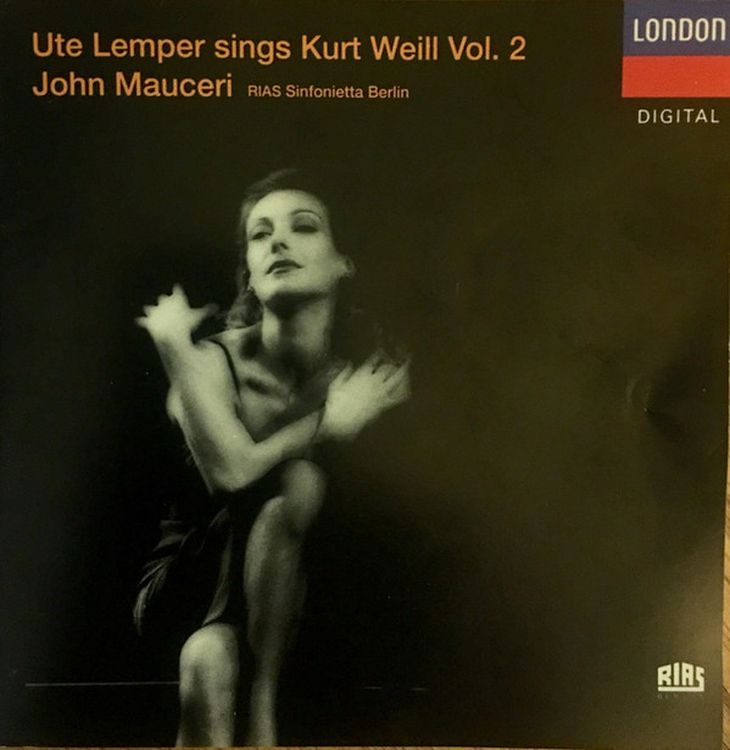 Ute Lemper. Weill: Songs From Marie Galante; Happy End, Lady In The Dark alice marie céleste fleury durand le roi des milliards