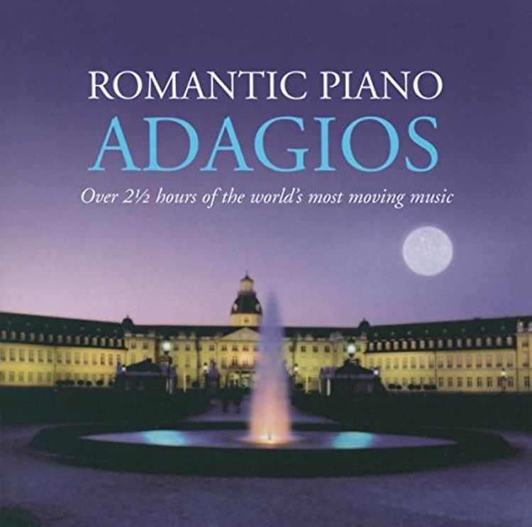 Various Artists. Romantic Piano Adagios (2 CD) f draeseke adagio for horn and piano op 31