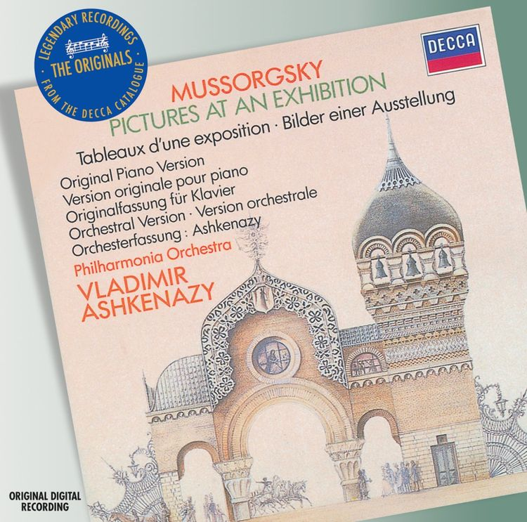Vladimir Ashkenazy. Mussorgsky: Pictures At An Exhibition no wat01184