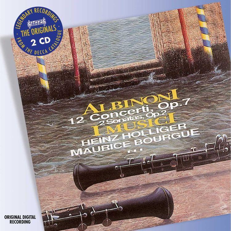 I Musici. Albinoni: 12 Concertos; 2 Sonatas (2 CD) недорого