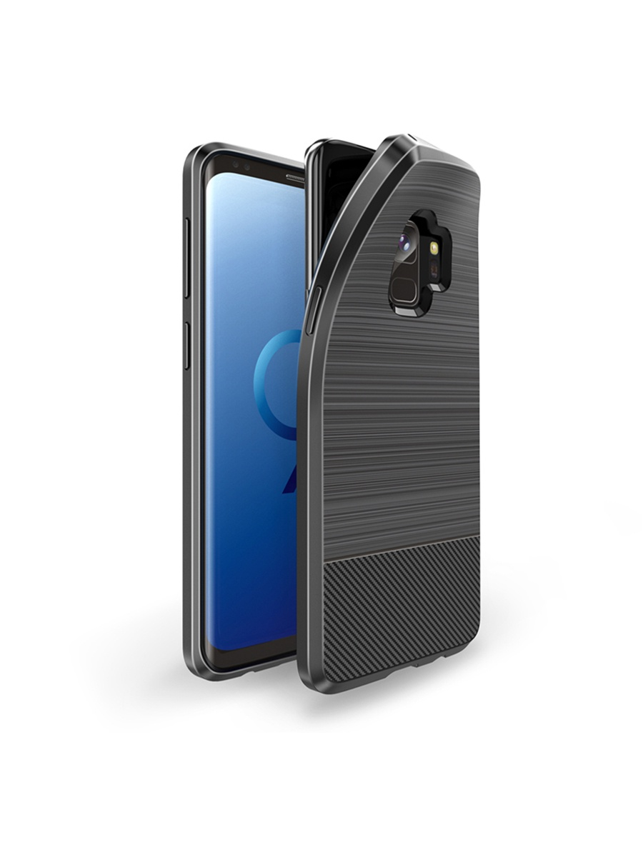 Чехол для сотового телефона DUX DUCIS Samsung Galaxy S9, серый чехол для сотового телефона samsung galaxy note 8 clear cover violet ef qn950cvegru