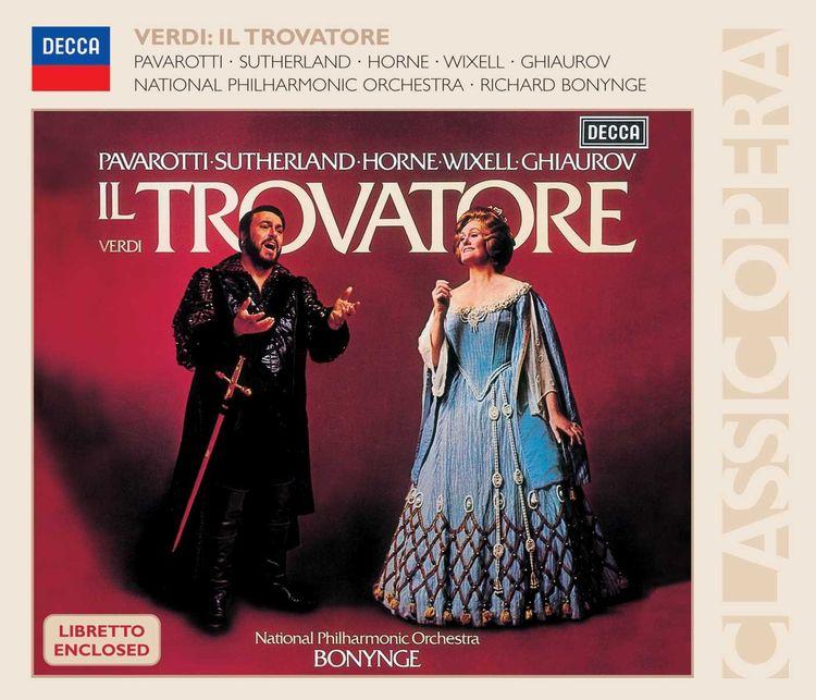Richard Bonynge. Verdi: Il Trovatore (3 CD) насос opera