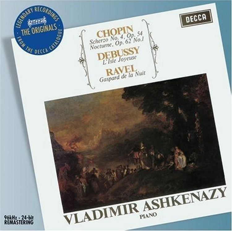 Vladimir Ashkenazy. Chopin/ Debussy/ Ravel г форе ноктюрн no 5 op 37 nocturne no 5 op 37