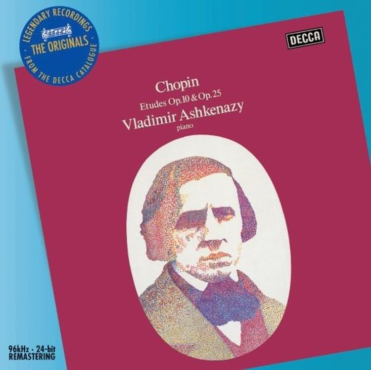 Vladimir Ashkenazy. Chopin: Etudes г форе ноктюрн no 12 op 107 nocturne no 12 op 107