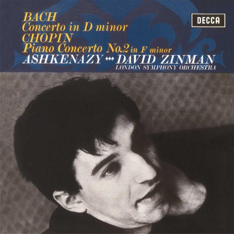 Vladimir Ashkenazy. Chopin: Piano Concerto No.2/ Bach: Keyboard Concerto (LP) chopin chopincho seong jin piano concerto no 1 ballades 2 lp