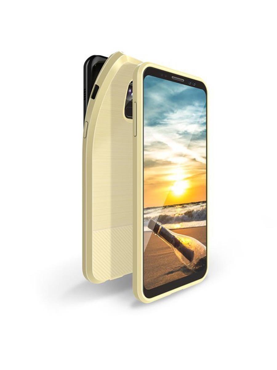 Чехол для сотового телефона DUX DUCIS Samsung Galaxy A8 (2018), золотой