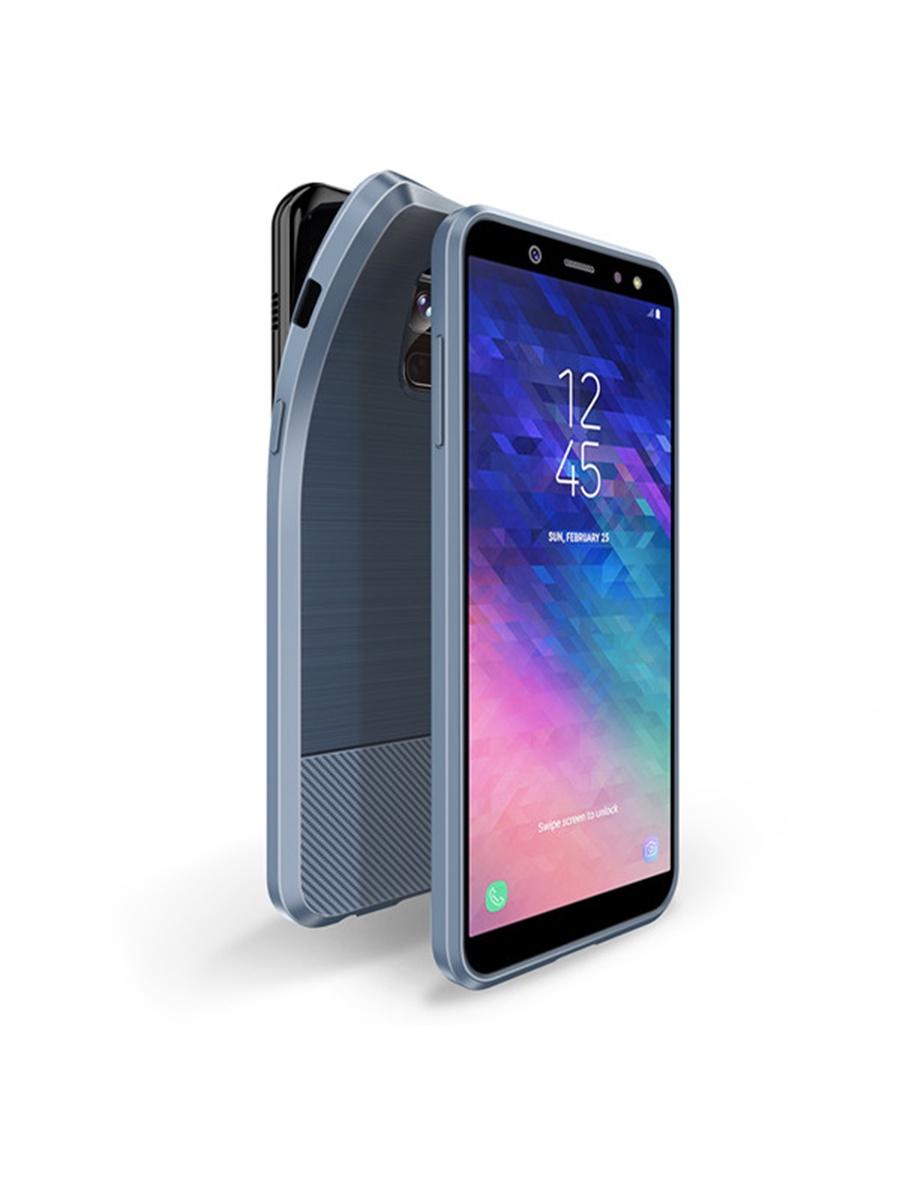 Чехол для сотового телефона DUX DUCIS Samsung Galaxy A6 (2018), синий