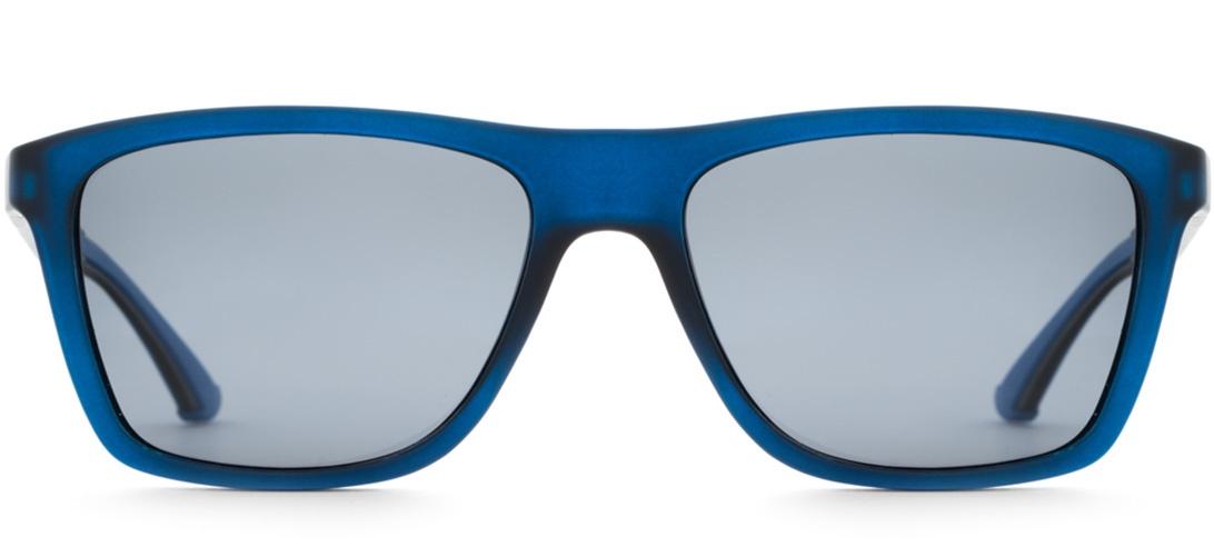 Очки солнцезащитные MONOLOOK Retro Spect Blue Квадратные черный мужские, черный yizi ezi hot springs профессиональный спортивный спортивный увеличить мужские плавки с прямым углом navy blue m 8059