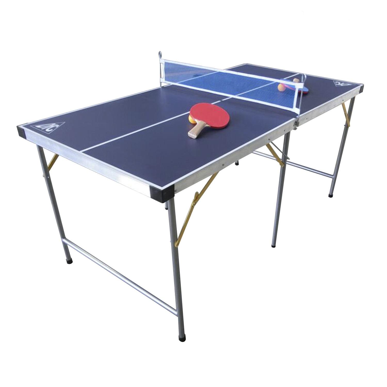 Теннисный стол DFC DS-T-009, синий теннисный стол dfc tornado 4 мм с сеткой