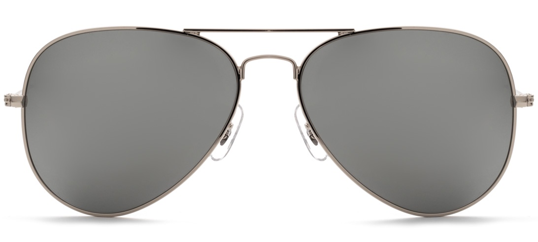 Очки солнцезащитные MONOLOOK New Stars Авиаторы серебристый женские мужские, серебристый