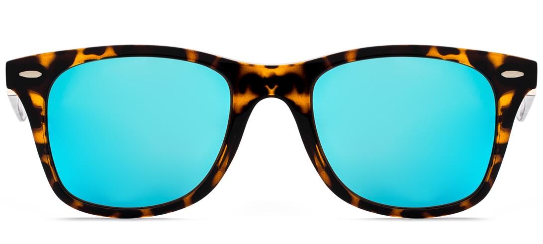 Очки солнцезащитные MONOLOOK Revo Wayfarer Вайфареры синий женские мужские, синий худи print bar revo technik