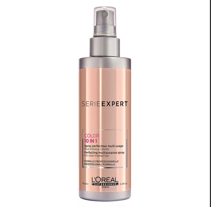 Спрей уходовый L'Oréal Professionnel Vitamino Color Spray A-OX 10 in 1 для защиты цвета волос 190 мл.