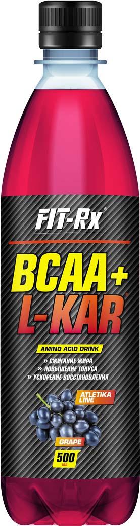 Аминокислотный комплекс FIT-Rx BCAA+L-KAR, виноград, 500 мл все цены