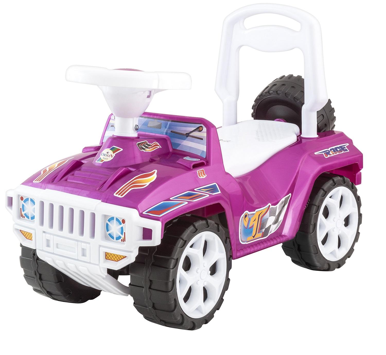 Каталка ORION TOYS Машина Ориончик 419 цвет розовый перламутр