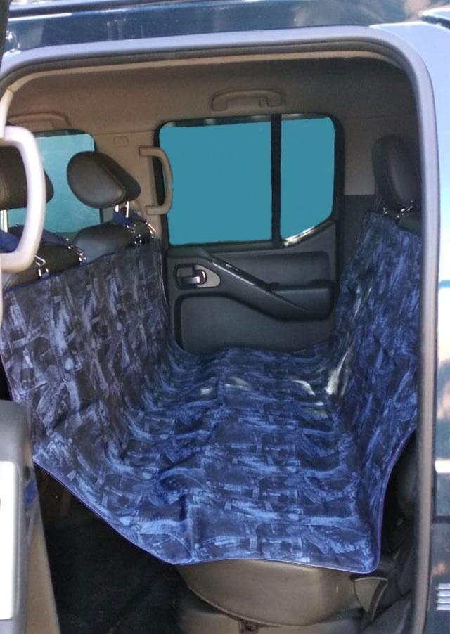 Автогамак для перевозки животных Теремок 140*147 см. цвет тёмно-синий автогамак для для перевозки собак auto premium на переднее сиденье 77048