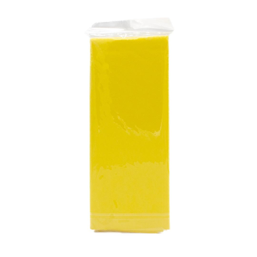 Подарочная упаковка Бумага тишью 76х50см,10 лист. Желтая, Бумага