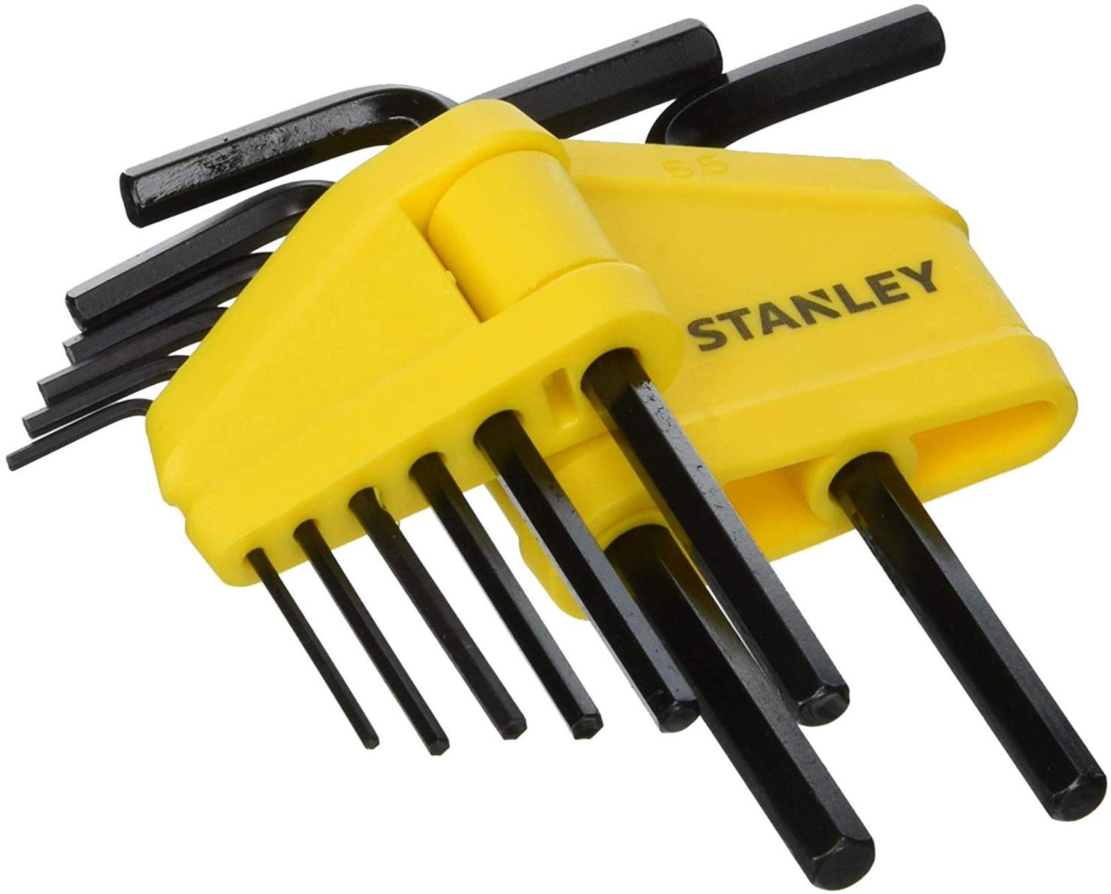 Набор шестигранных ключей Stanley, 1,5-6 мм, 8 шт цена