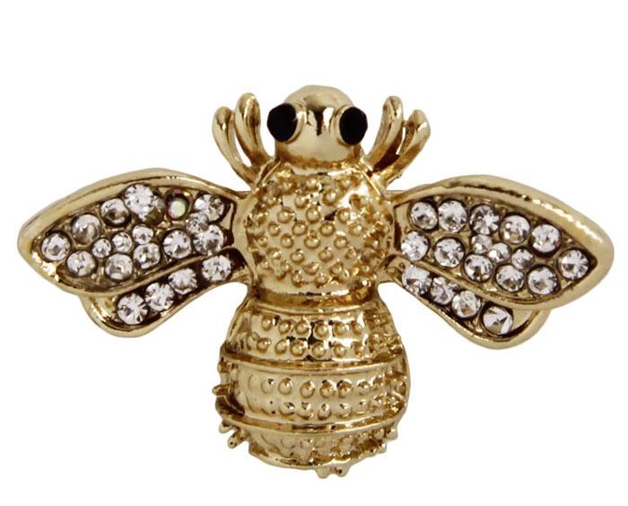Брошь бижутерная Антик Хобби ОС30605, Бижутерный сплав, Кристаллы, золотой, серебристый джейсон гудвин величие и крах османской империи властители бескрайних горизонтов