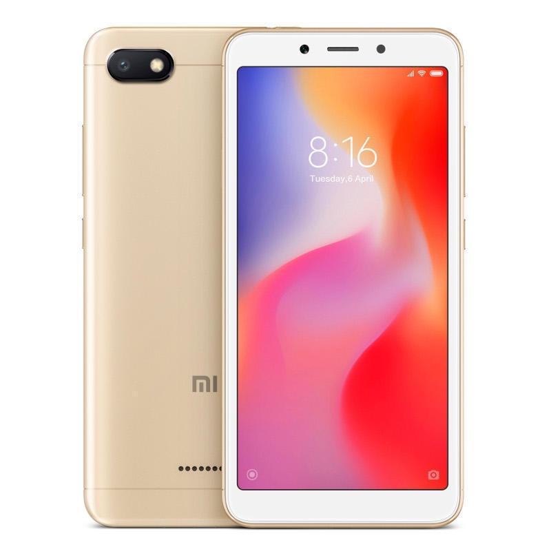 Смартфон Redmi 6A 2/16 Гб 16 GB, золотой смартфон xiaomi redmi 6a 16 гб золотистый