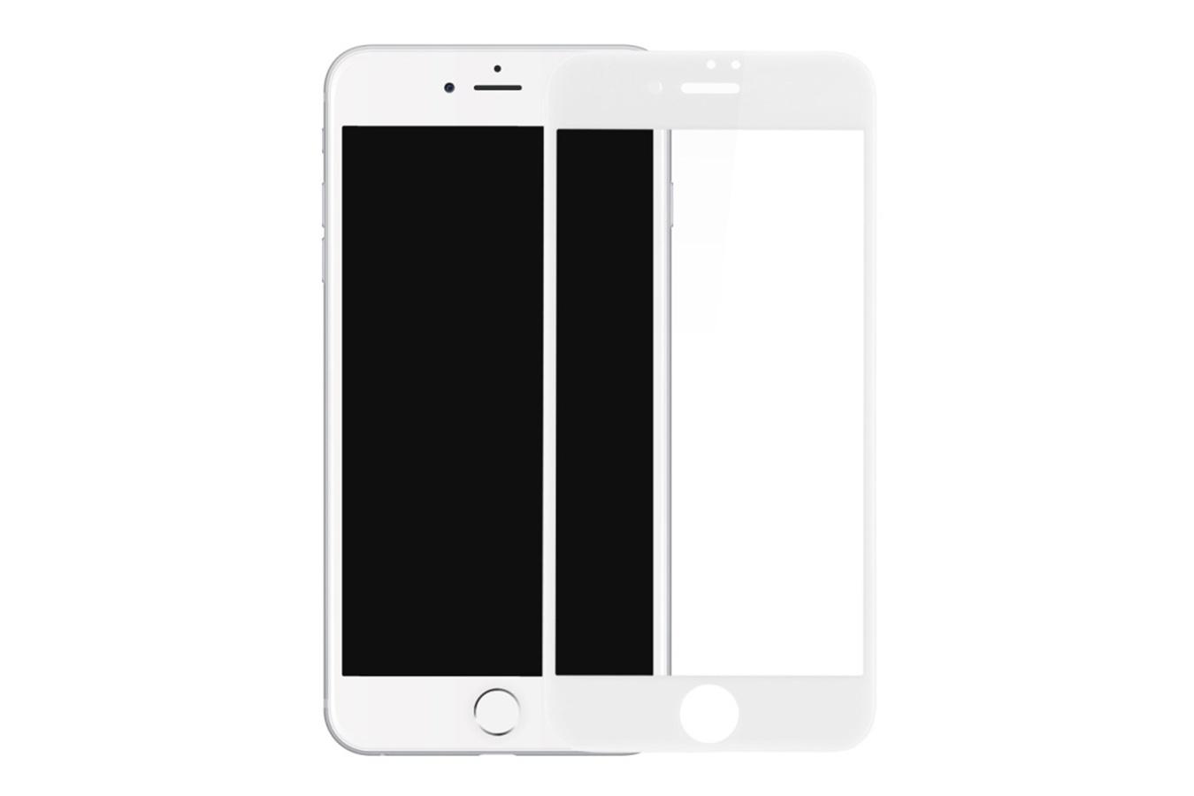 Защитное стекло Premium 6D для iPhone 7 plus White защитное матовое стекло для iphone 7 plus anti glare full screen glass white