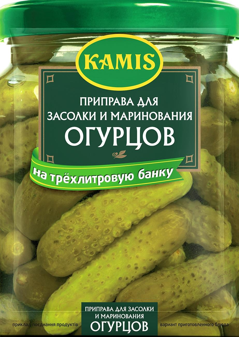 Приправа Kamis, для засолки и маринования огурцов, 30 г