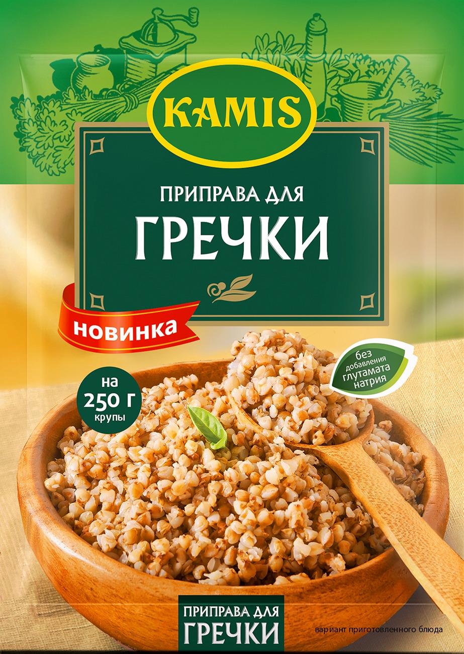Kamis приправа для гречки, 20 г dr oetker пикантфикс для грибов 100 г