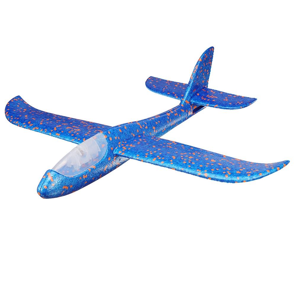 Самолет Планер синий, зеленый, красный, оранжевый