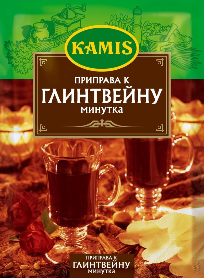 Kamis приправа к глинтвейну минутка, 40 г