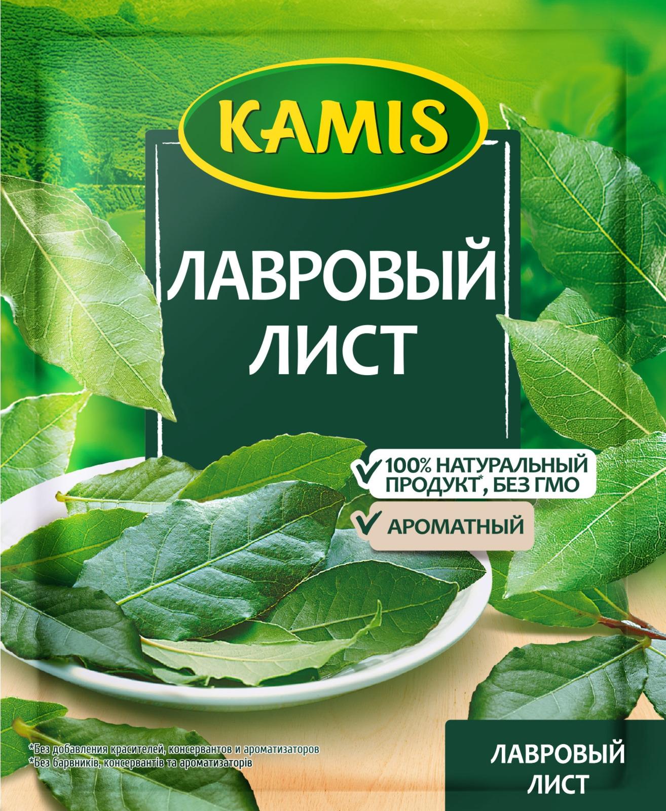 Kamis лавровый лист, 5 г