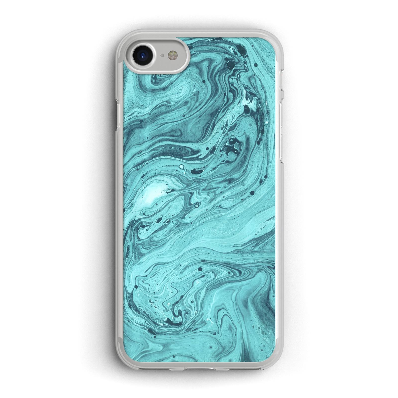 """Чехол для сотового телефона Boom Case Чехол для iPhone 7 / 8 """"Бирюзовый мрамор"""""""