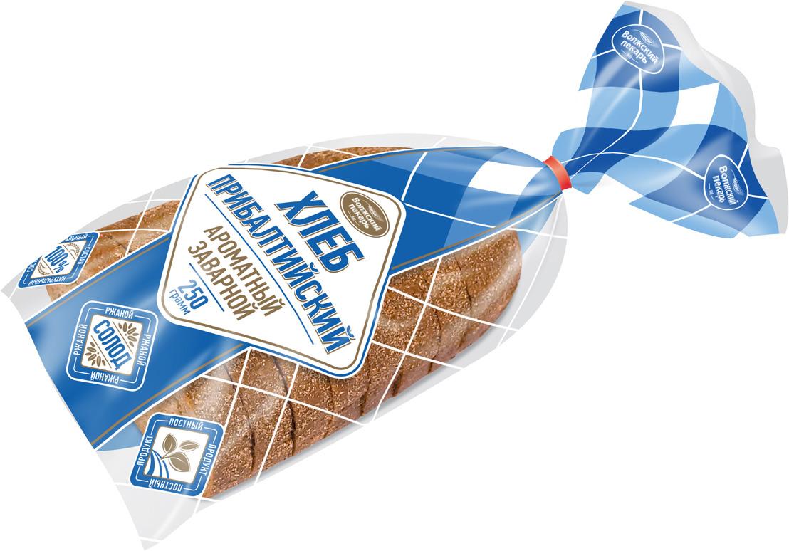 Хлеб Волжский пекарь Прибалтийский, нарезка, 250 г волжский пекарь баранки волжские горчичные 500 г