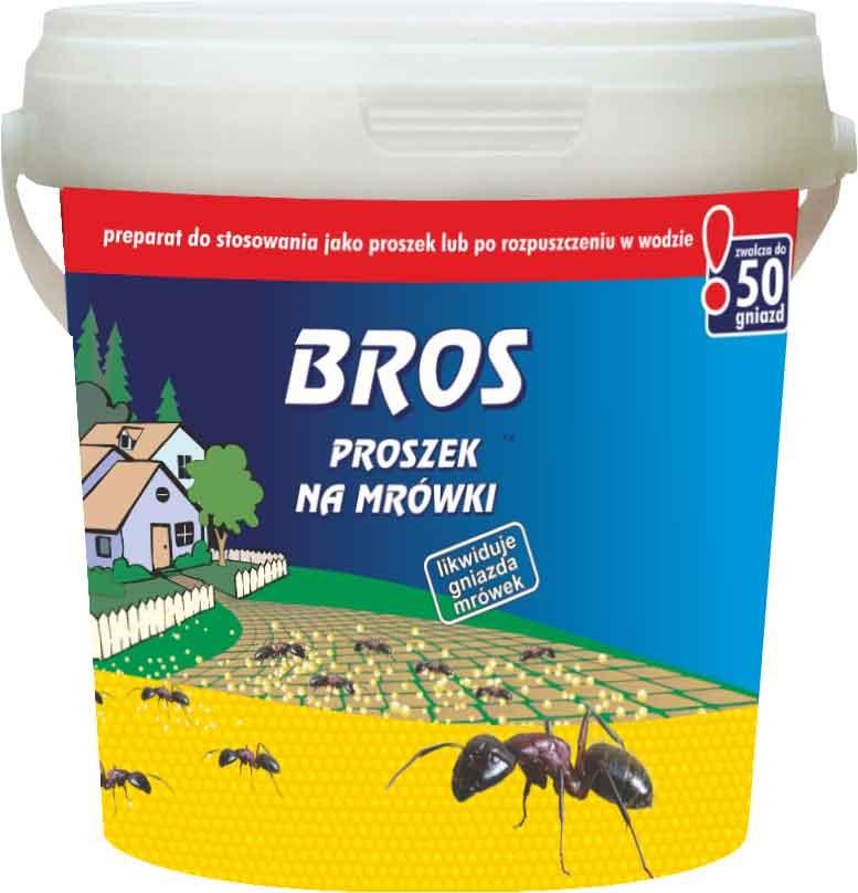 Уничтожитель Bros от муравьев, 722844, 500 г порошок против муравьев delicia 375 г