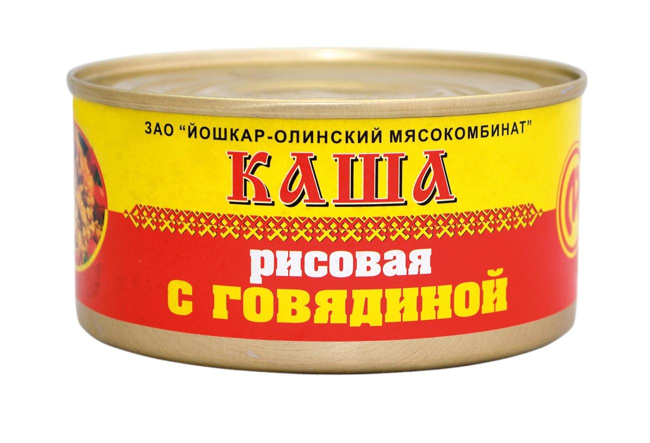 Мясные консервы Йошкар-Олинская Тушенка 1416 Банка, 325 путешествие по йошкар оле