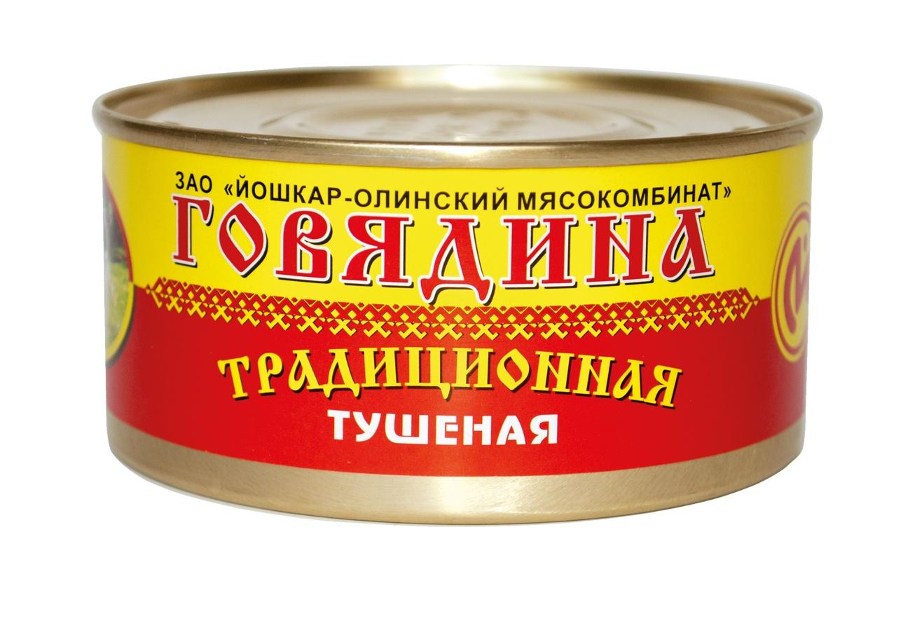 Мясные консервы Йошкар-Олинская Тушенка 31529 Банка, 325