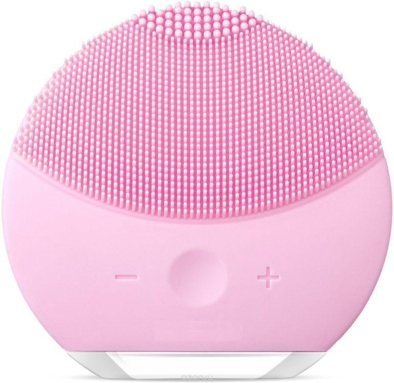 купить Щеточка для очищения лица ZUP Forever LUNA mini 2, розовый онлайн