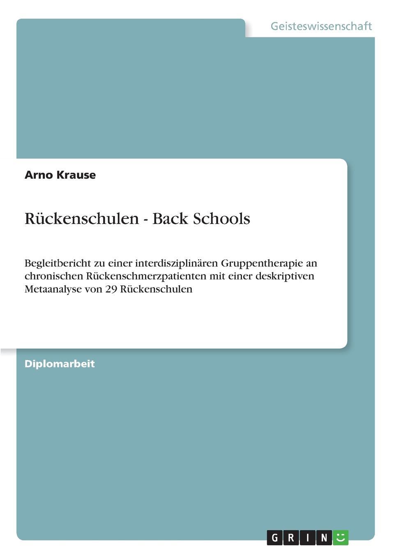Arno Krause Ruckenschulen - Back Schools criss cross low back swimsuit