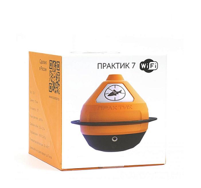 Эхолот Практик 7 Маяк Wi-Fi, оранжевый