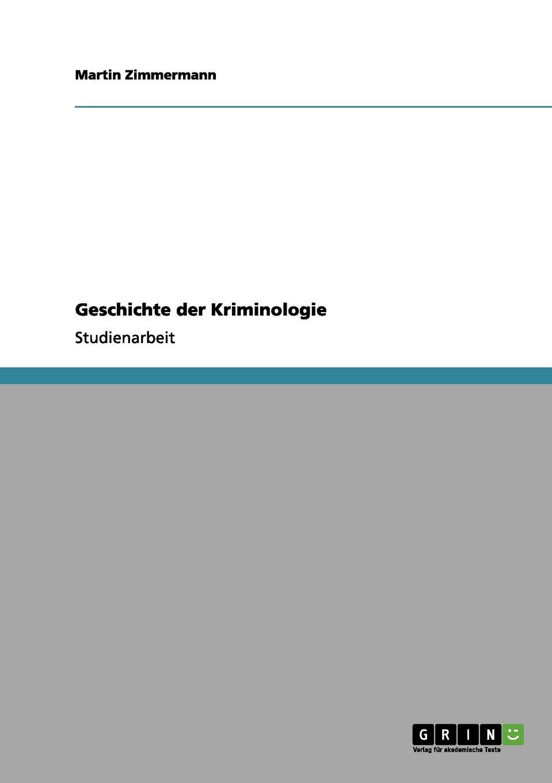 Martin Zimmermann Geschichte der Kriminologie wassil sachariew graphische arbeiten der schule von samokow