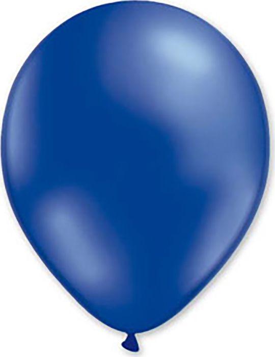 Воздушный шарик Miland, металлик синий, 100 шт, 31 см шарик воздушный декоратор transparent 057 100 шт