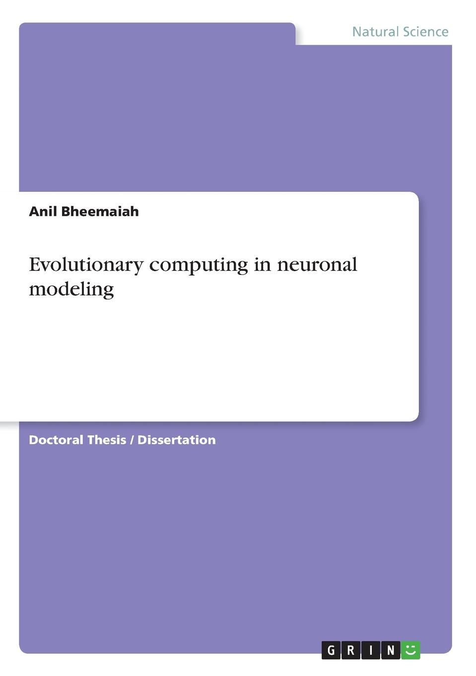 Anil Bheemaiah Evolutionary computing in neuronal modeling lionel larue the colors of mice a model genetic network
