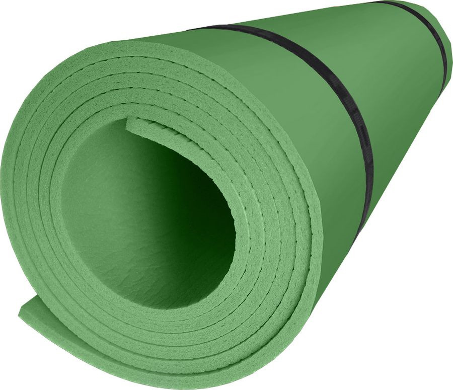 Коврик туристический Isolon Sport 5, sp_5_nn-302-00, зеленый, 180 х 60 см коврик туристический isolon оptima large s10 op 10 lg nn 506 00 зеленый 180 х 60 см