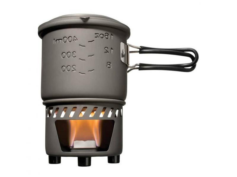 Спиртовая горелка Esbit Cookset 585 ml kingcamp deluxe cookset