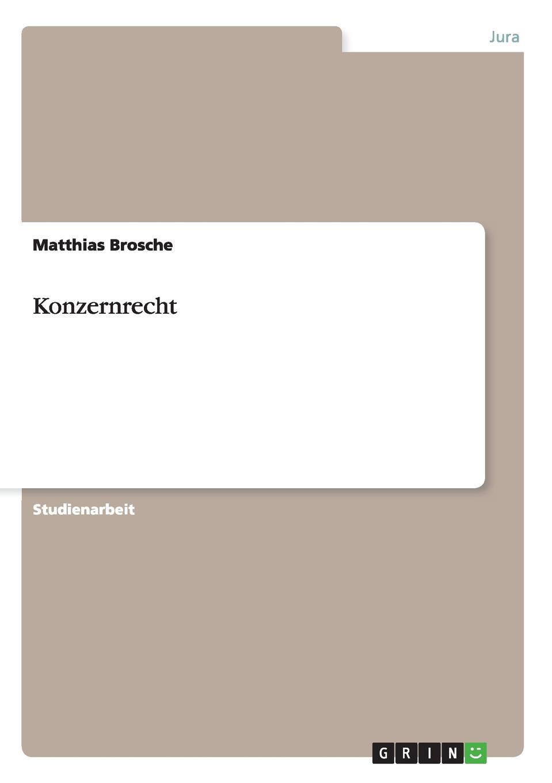 Matthias Brosche Konzernrecht alligatoah aschaffenburg