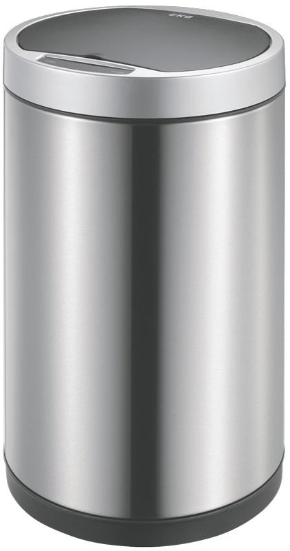 Мусорное ведро EKO EK9285-12L, серебристый