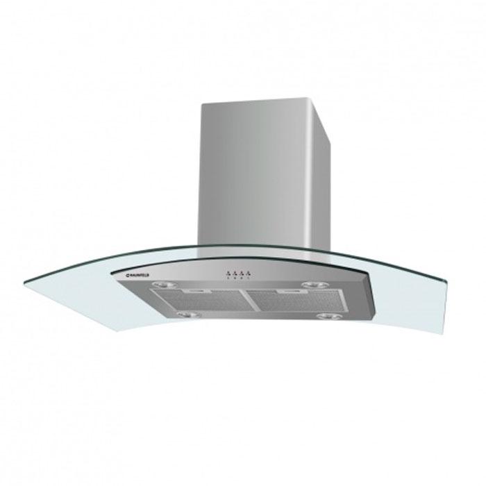 Кухонная вытяжка MAUNFELD Ancona PlusA 90 нержавейка/прозрачное стекло вытяжка со стеклом maunfeld berta 90 нержавейка прозрачное стекло