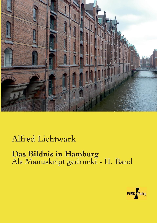 цена на Alfred Lichtwark Das Bildnis in Hamburg